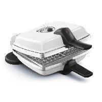 Accessoires Et Pieces - Petit Appareil De Cuisson LAGRANGE 039161 Gaufrier electrique Super 2 - Blanc