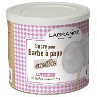 Accessoires Et Pieces - Petit Appareil De Cuisson LAGRANGE 380006 Boite de sucre a barbe a papa 500 g - Vanille