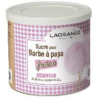 Accessoires Et Pieces - Petit Appareil De Cuisson LAGRANGE 380007 Boite de sucre a barbe a papa 500 g - Fraise