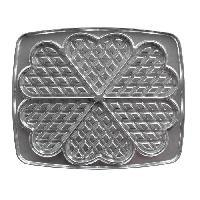 Accessoires Et Pieces - Petit Appareil De Cuisson LAGRANGE Accessoires 030521 Jeu de plaques gaufrettes en coeur Super 2