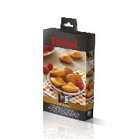 Accessoires Et Pieces - Petit Appareil De Cuisson TEFAL Accessoires XA801512 Lot de 2 plaques mini madeleines Snack Collection