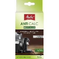 Accessoires Et Pieces - Petit Dejeuner MELITTA Detartrant Bio en poudre pour machine automatique 4 x 40 g