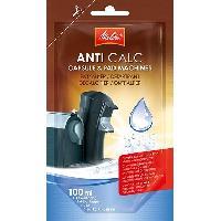 Accessoires Et Pieces - Petit Dejeuner MELITTA Detartrant liquide ANTI CALC pour machines a dosettes