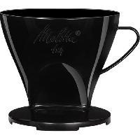Accessoires Et Pieces - Petit Dejeuner MELITTA Porte-filtre a cafe 1x4 - Noir