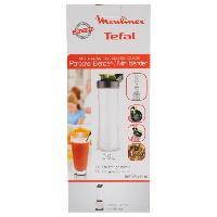 Accessoires Et Pieces - Preparation Culinaire MOULINEX Accessoires XF205010 Gourde nomade 0.6L pour Mini blender
