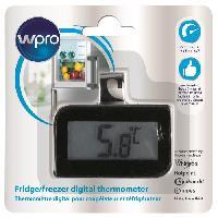 Accessoires Et Pieces Froid WPRO BDT102 Thermometre digital pour réfrigérateur et congélateur