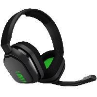 Accessoires Jeux Video - Accessoires Console ASTRO Casque Gaming A10 Gris et Vert - Compatible Xbox