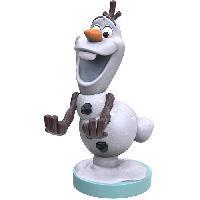 Accessoires Jeux Video - Accessoires Console Figurine Olaf - Support & Chargeur pour Manette et Smartphone - Exquisite Gaming