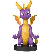 Accessoires Jeux Video - Accessoires Console Figurine Spyro The Dragon XL - Support & Chargeur pour Manette et Smartphone - Exquisite Gaming