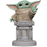 Accessoires Jeux Video - Accessoires Console Figurine The Child Bébé Yoda - Support & Chargeur pour Manette et Smartphone - Exquisite Gaming