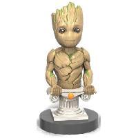 Accessoires Jeux Video - Accessoires Console Figurine support et recharge manette Cable Guy Gardiens de la Galaxie : Groot - Generique