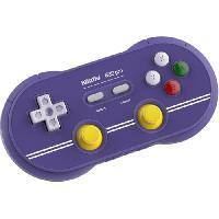 Accessoires Jeux Video - Accessoires Console Manette Gamepad bluetooth bleue 8Bitdo N30 Pro2 pour Switch - Just For Games