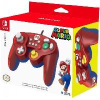 Accessoires Jeux Video - Accessoires Console Manette Smash Bros Mario pour Switch - Hori