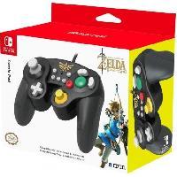 Accessoires Jeux Video - Accessoires Console Manette Super Smash Bros Zelda pour Switch - Hori
