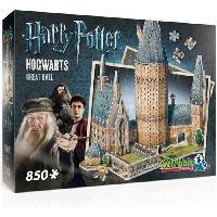Accessoires Jeux Video - Accessoires Console PUZZLE 3D - Harry Potter : La Grande Salle de Poudlard - 850 pcs