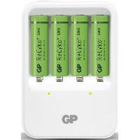 Accessoires Photo - Optique Chargeur GP PB420 + 4AA 2000mAh Recyko+