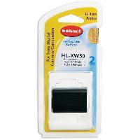 Accessoires Photo - Optique HAHNEL HLXW50 Batterie li-ion conçue pour les appareils photo numériques Sony utilisant une batterie NP-FW50