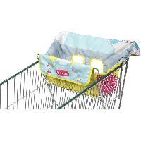 Accessoires Promenade-voyage Badabulle Protege-siege chariot pour enfant - 2 jouets sensoriels intégrés