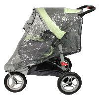 Accessoires Promenade-voyage Habillage pluie pour poussette 3 roues
