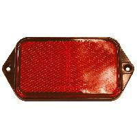 Accessoires Remorque Jeu de 2 reflecteurs 95x50mm rouge