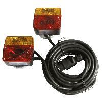 Accessoires Remorque Kit eclairage magnetique 12V 7p 7.5m