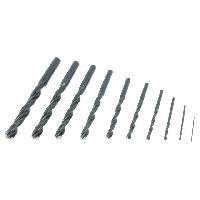 Accessoires outillage electroportatif ALPEN - 9 Forets de 1 a 10mm HSS