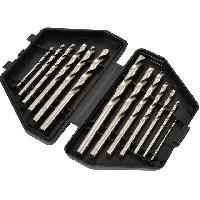 Accessoires outillage electroportatif AVIT - 13 Forets metal de 1.5 a 6.5mm