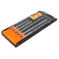 Accessoires outillage electroportatif AVIT - 5 Forets beton avec portant- SDS
