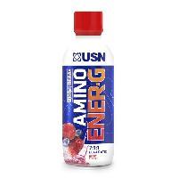 Acides Amines USN Pack de 12 Bouteilles Berry Aminoenergy 375 ml Bien Etre