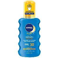 Activateur De Bronzage NIVEA SUN Spray Protecteur activateur de bronzage Protect et Bronze FPS 30