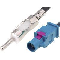 Adaptateur Antenne ADNAuto Adaptateur Antenne AAFD1 - Fakra Male vers DIN Male