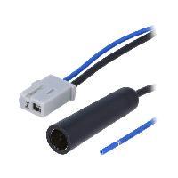 Adaptateur Antenne ADNAuto Adaptateur Antenne Din compatible avec Honda Mazda Suzuki Swift ap06