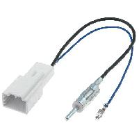Adaptateur Antenne Adaptateur Antenne DIN AA7094 pour Lexus Toyota Subaru ADNAuto