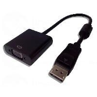 Adaptateur Audio - Video Adaptateur Display Port male hdmi - VGA femelle - Lineaire