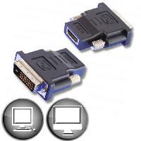 Adaptateur Audio - Video Adaptateur HDMI femelle / DVI mâle Lineaire