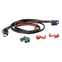 Adaptateur Aux Autoradio Adaptateur de prise USB AUX AD1094A compatible avec Fiat Lancia systeme Blue and Me