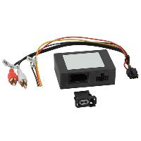Adaptateur Aux Autoradio Adaptateur systeme actif fibre optique Most25 compatible avec Mercedes et Porsche