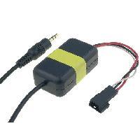 Adaptateur Aux Autoradio Cable Adaptateur AUX Jack compatible avec BMW 3 5 7 X5 navigation usine