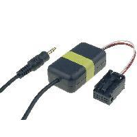 Adaptateur Aux Autoradio Cable Adaptateur AUX Jack compatible avec BMW 3 5 X3 X5 sans navigation