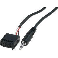 Adaptateur Aux Autoradio Cable Adaptateur AUX Jack compatible avec Ford ap03