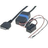 Adaptateur Aux Autoradio Cable Adaptateur AUX iPod iPhone compatible avec BMW 3 5 X3 X5 sans navigation