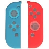 Adaptateur Manette 2 Grips en silicone Konix pour Joy Con Switch