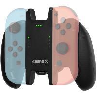 Adaptateur Manette Accessoire Support Manette + Batterie Konix Play & Charge pour Joycon Switch