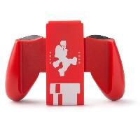 Adaptateur Manette Nintendo Switch Poignee ergonomique - Mario Classic - Rouge
