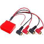 Adaptateur Mini-ISO 20 pin RCA pour Audi A3 A4 A6 A8 TT