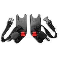 Adaptateur Siege - Nacelle BABY JOGGER City Mini-GT-Elite - Adaptateur pour siege-auto Bebe Confort-Cybex-Nuna