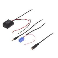 Adaptateur connectivite Autoradio Adaptateur Bluetooth compatible Chevrolet Mercedes Nissan Renault Volvo DAF Iveco ADNAuto