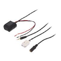 Adaptateur connectivite Autoradio Adaptateur Bluetooth compatible avec Mercedes Classe A B C CL CLK GL M RS SL