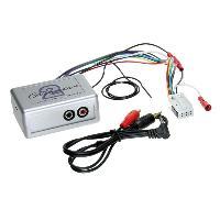 Adaptateur connectivite Autoradio Adaptateur audio AUX compatible avec VW ap03 - Blaukpunt Delta 6 RCD MFD2 Navi 16-9