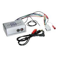 Adaptateur connectivite Autoradio Adaptateur audio AUX pour VW ap03 - Blaukpunt Delta 6 RCD MFD2 Navi 16-9 Generique